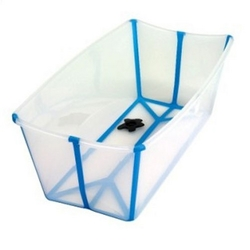 The Flexi Bath baby badekar transparent