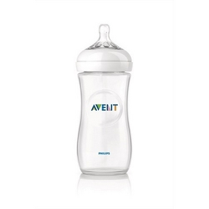 Avent sutteflaske PP 330 ml., BPA fri, Natural