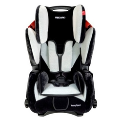 Recaro Young Sport 2.0 9-36 kg., Sort/s�lv, NY MODEL!