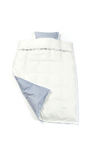 Image of   Smallstuff sengetøj, baby, Traktor - blå
