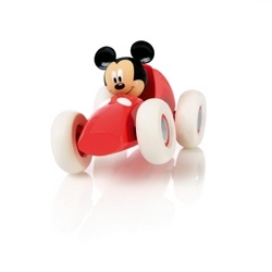 Brio racerbil med Mickey Mouse