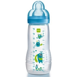 MAM Baby Bottle sutteflaske, 330 ml., BPA fri, dreng