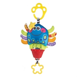 Musical pull string Octopus, Playgro