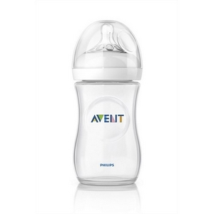 Image of   Avent sutteflaske PP 260 ml., BPA fri, Natural
