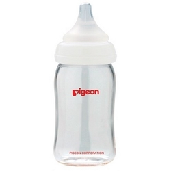 Pigeon glassutteflaske wide-neck 160ml.