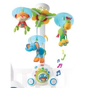 Image of Tiny Love Soothe n Groove musikuro med mobil spilleboks (554-552)