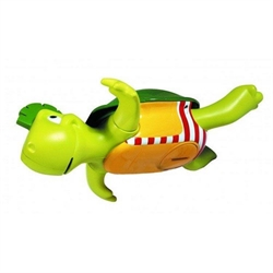 Tomy swim and sing turtle