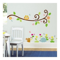 Wallstickers, Happy Scroll Branch