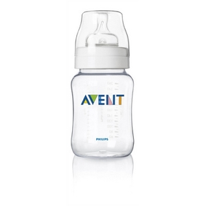 Image of   Avent sutteflaske PP 260 ml., BPA fri, Klassisk