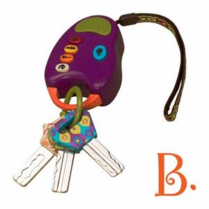 Image of B-Toys nøglebundt med lyd og lys (4545-5662-222)