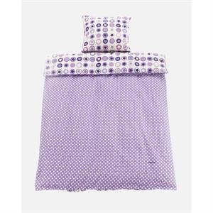 Billede af Baby sengetøj, lavendel, Smallstuff