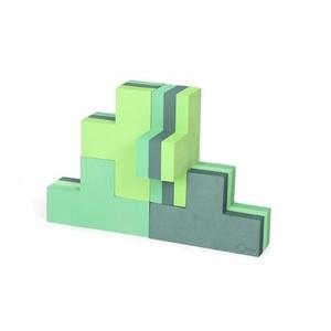Byggeblokke, Bobles, flere farver