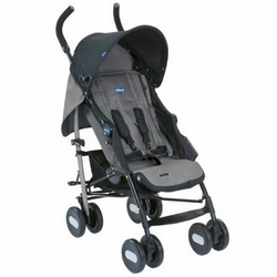 Chicco Echo paraplyklapvogn, sort/gr�
