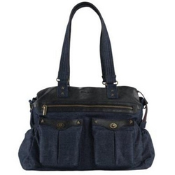 Gaia&Ko GKO Denim Leather, Pusletaske