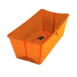 The Flexi Bath babybadekar orange