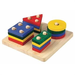 Geometri sorteringsbord, PlanToys