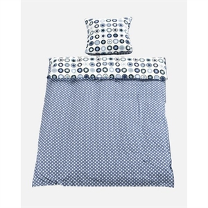 Image of   Junior sengetøj, denim, Smallstuff