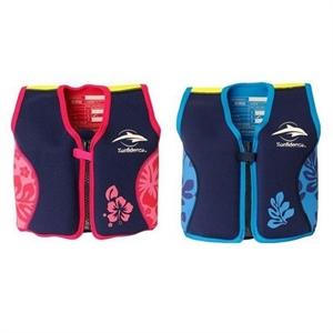 Konfidence Jacket, svømmevest, blå eller pink/lilla