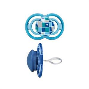 MAM Perfect Teat silikone sut 6 mdr.+, BPA fri, 1 stk., dreng