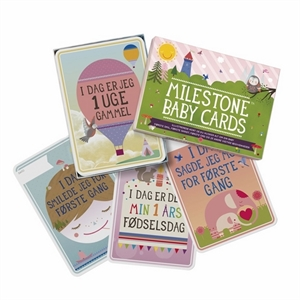 Image of Milestone baby cards, 30 stk. (565-663-3332)