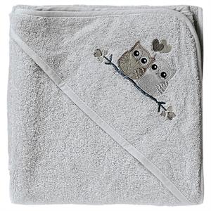 Baby Dan, Love Birds badehåndklæde, grå