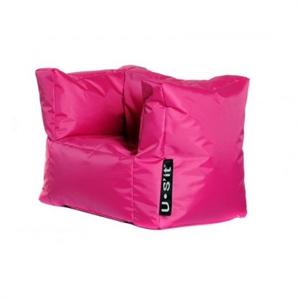 Image of Sit and Joy, U-Sit Kiddy Chair, sækkestol, pink (455-545-529871)