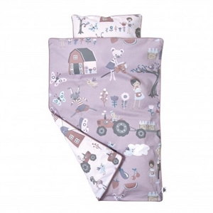 Image of Baby sengesæt, Farm, Sebra, dreng eller pige (787-963-33)