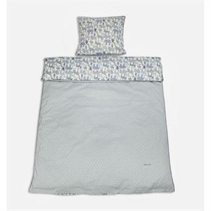 Billede af Baby sengetøj med dyr, Smallstuff