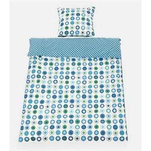 Image of   Baby sengetøj, petrol, Smallstuff