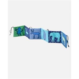 Image of   Stofbog med dyr til barnevogn eller tremmeseng, Smallstuff