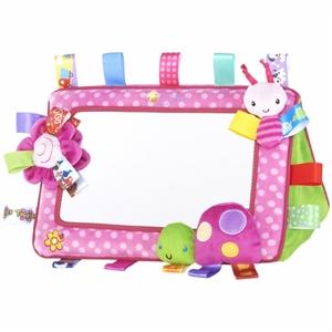 Billede af Taggies, babys første spejl, pink