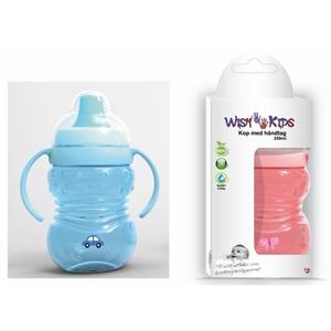 Wish Kids drikkekop med håndtag, 3 mdr.+, BPA fri