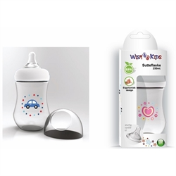 Wish Kids sutteflaske, 250 ml., BPA fri