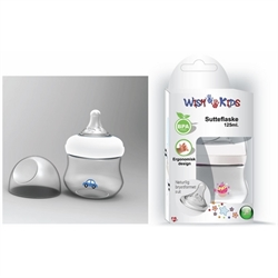 Wish Kids sutteflaske, 125 ml., BPA fri